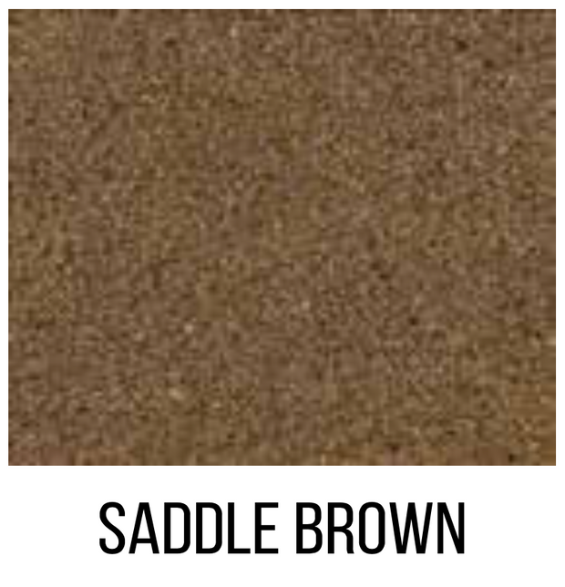 Saddle Brown Color Juice Dye Sample Bottle