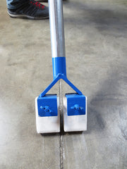 The Control Joint Soaper is an innovative new way to make clean up while laying down control joint filler much easier.