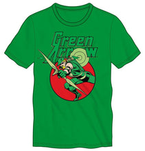 Green Arrow Costume Bow And Arrow Men's Green T-Shirt Tee Shirt