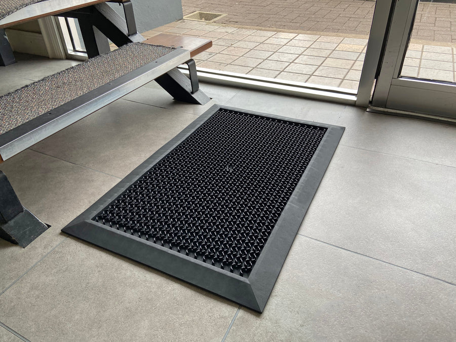 Disinfecting FootBath - Loose Lay Disinfectant Floor Mat