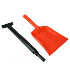 Two Piece Shovel
