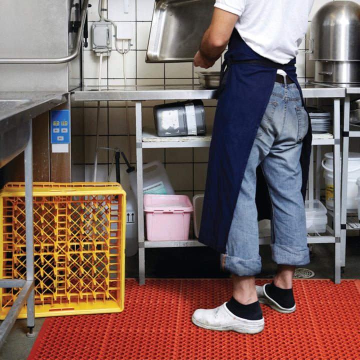 ZoneMat Red  - Foodsafe Open Drainage Mats