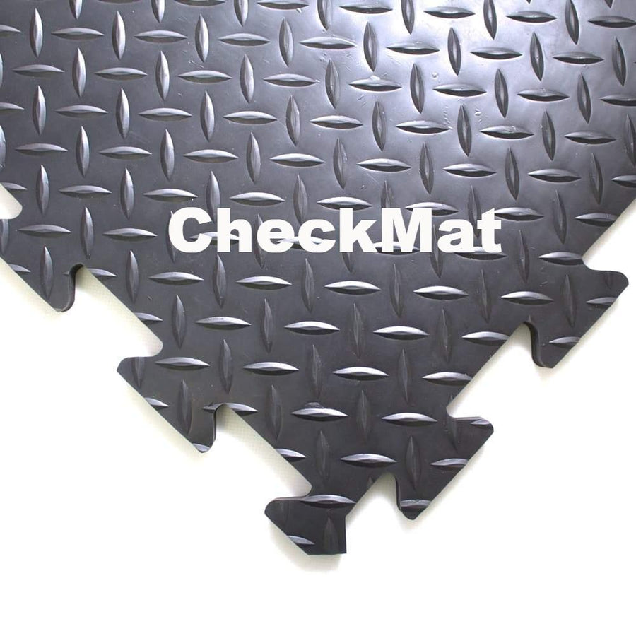 CheckMat - tile system for protecting large floor areas
