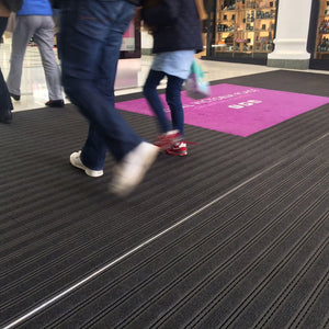 FootMat Track - Tiles for Recessed Entrance Mat Wells