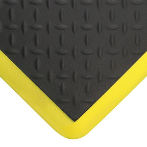 TraffiMat Elite - Durable Anti-fatigue Mat with Diamond Pattern