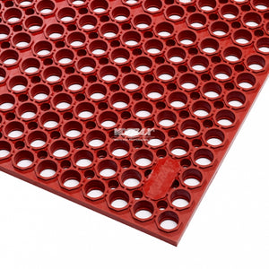 ZoneMat Delux Red - Heavy Duty Foodsafe Open Drainage Mats
