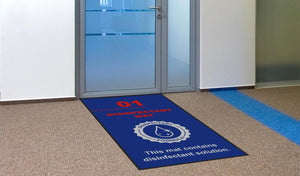 Social Distancing Mats - Disinfect Your Footwear