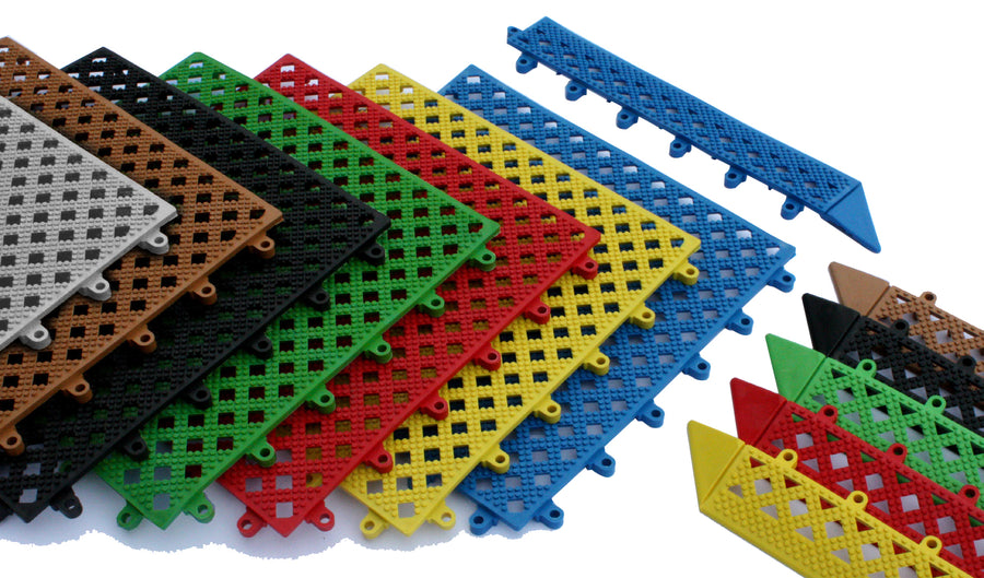 InterMat - Interlocking Duckboard Tile System