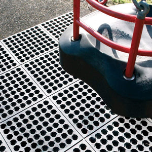 Lanmat ExternoMat - interlocking rubber safety tiles for play areas