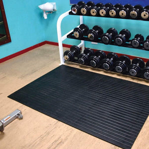 Lanmat WeightMat - robust rubber mat for superior floor protection