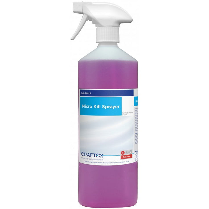 Micro Kill Sanitising Spray 1ltr