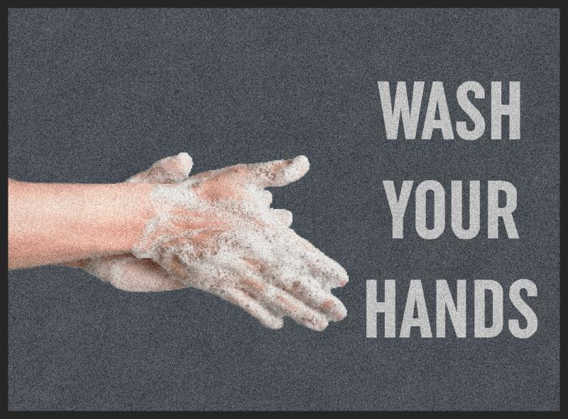 Social Distancing Mats - Wash Your Hands (H)
