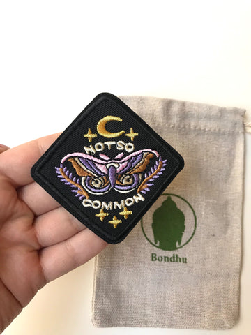 Not So Common Butterfly Boho Iron on Clothing Patch