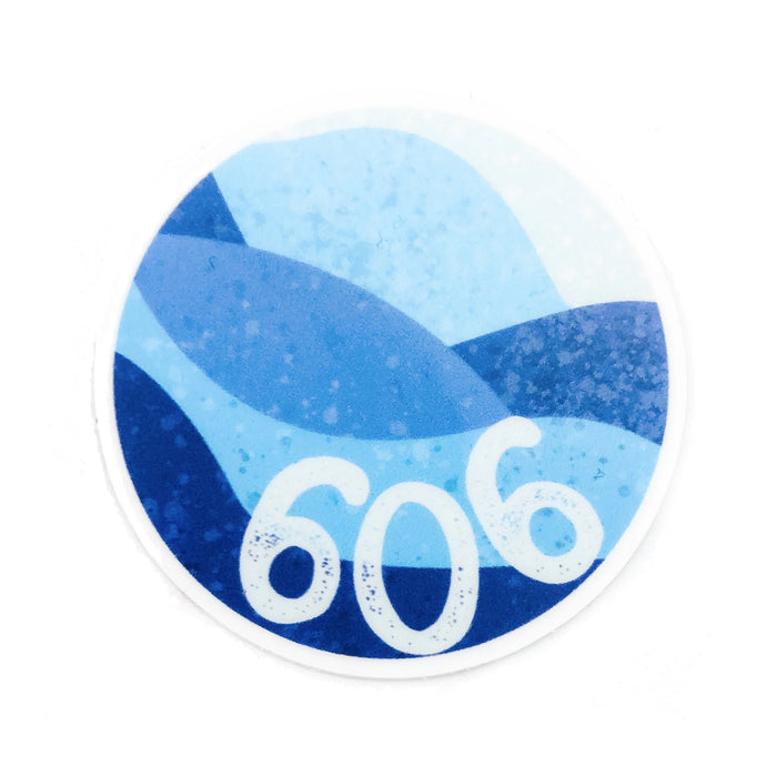 The 606 Sticker