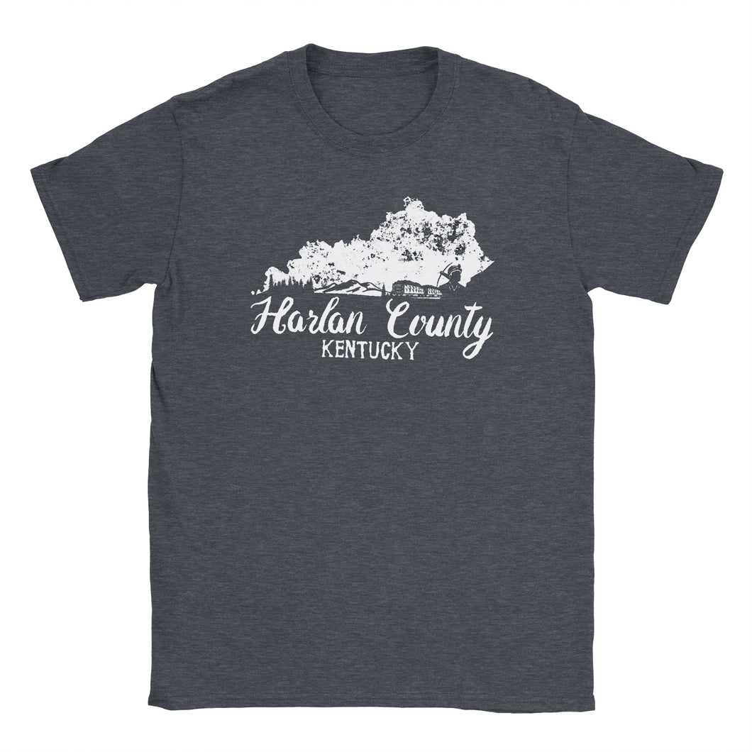 Harlan County Kentucky Tshirt Hill and Holler