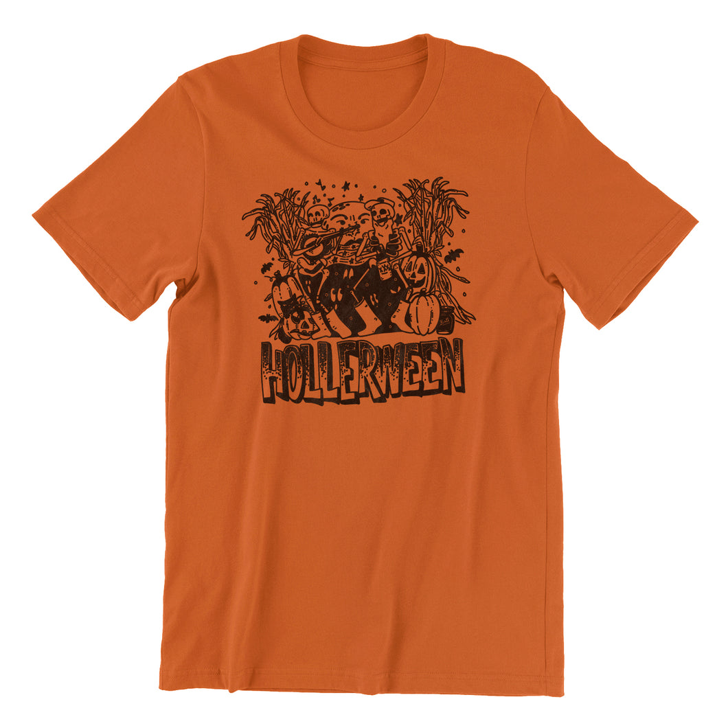 The Throwback HOLLERween Tee