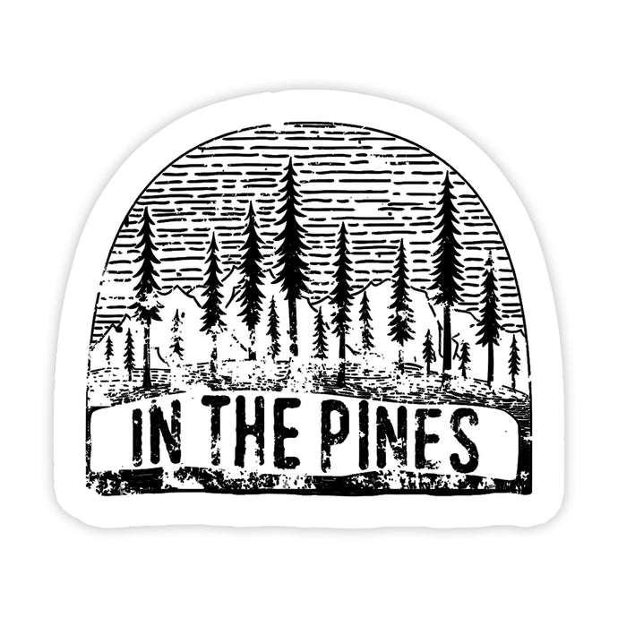 In the Pines Decal Sticker