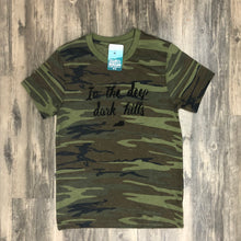 The Original Deep Dark Hills Camo Tee