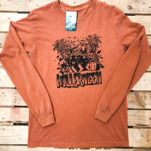 The Throwback Hollerween Long Sleeve