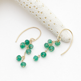 ce4g - green earrings
