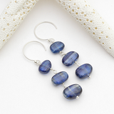 cobblestone earrings