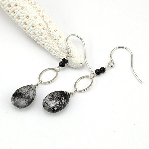 carbon earrings