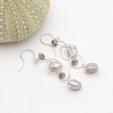 samara silver earrings