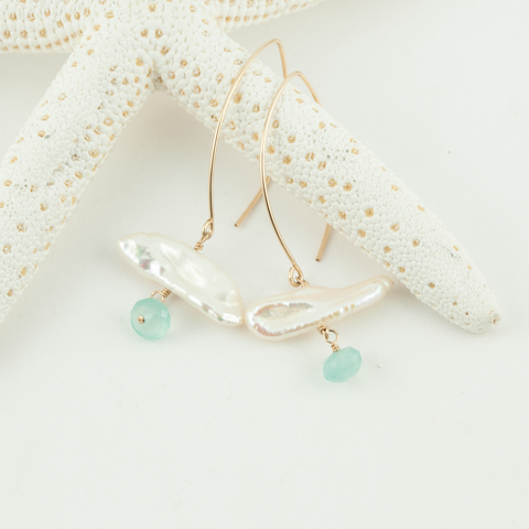 sea & sky earrings