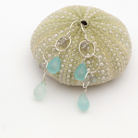 aquadisiac earrings