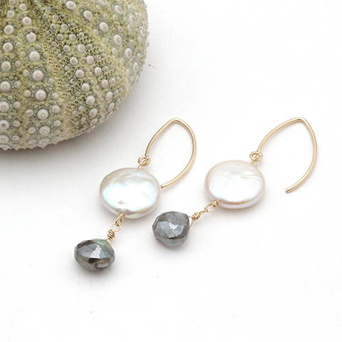 lunar winter earrings
