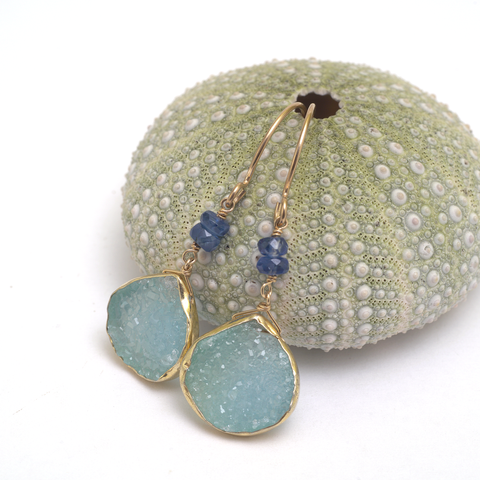 ocean deep II earrings