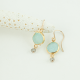 sky high drop earrings
