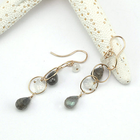 moontide earrings