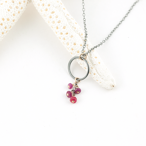 berry-licious necklace