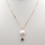 lunar winter necklace