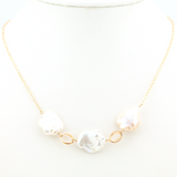 cirrus white necklace