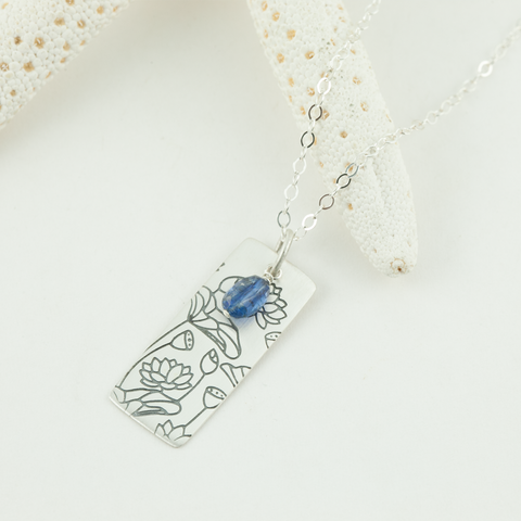 lotus lake necklace