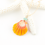 sunnyside aqua necklace