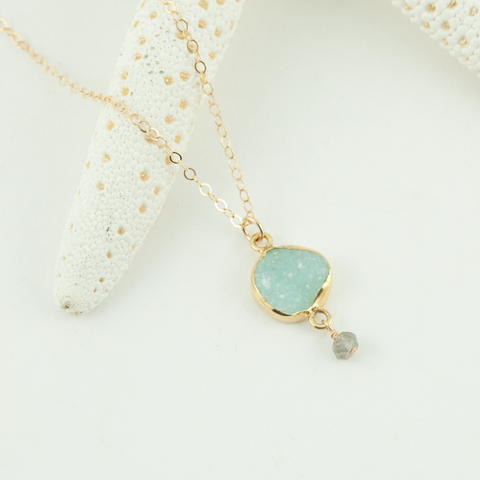 sky high drop necklace
