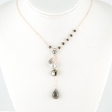 na pali coast grey necklace