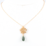 padma gold necklace