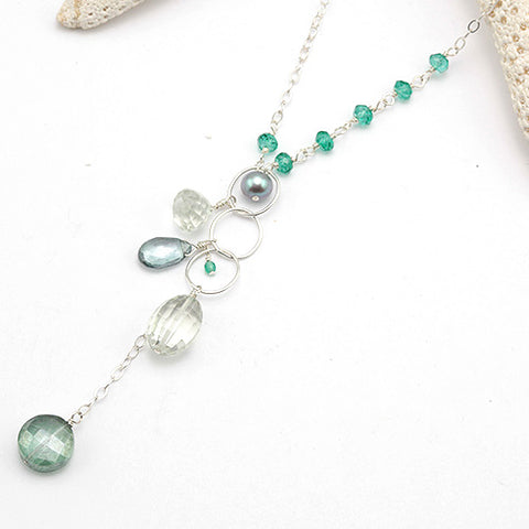 na pali coast green necklace