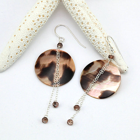 nutmeg earrings