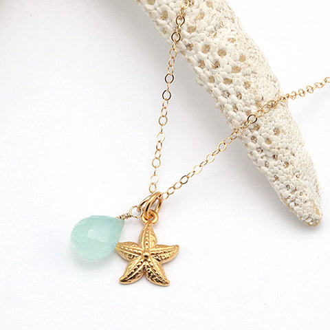 seastar gold necklace