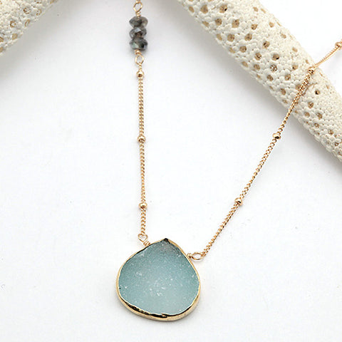 summer rain necklace
