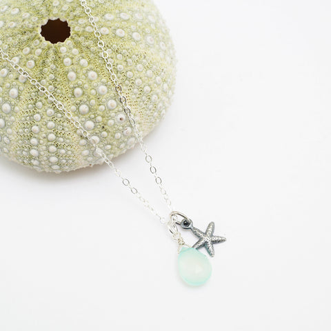 slim seastar necklace