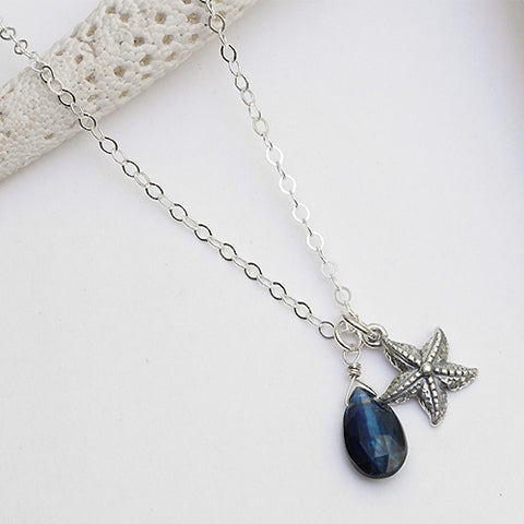 seastar silver necklace