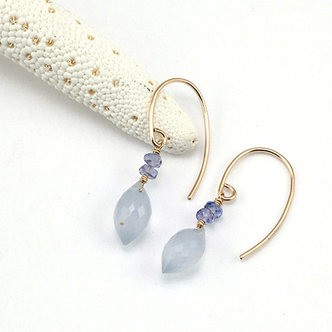 ultra violet II earrings