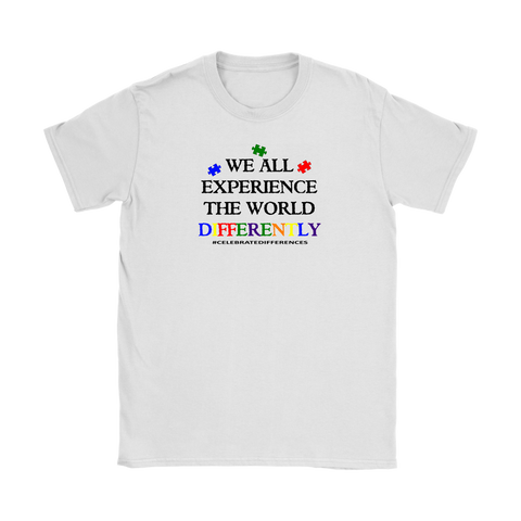 Differently (Autism Awareness) Tee