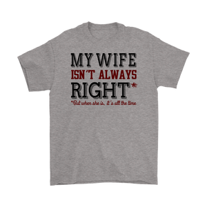 My Wife Isn't Always Right